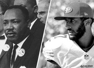 The Legacies of Martin Luther King Jr and Colin Kaepernick: A Lesson in Humility, Hypocrisy and Martyrdom